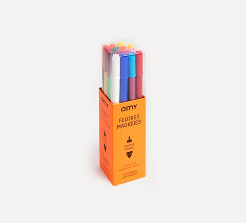Magic Felt Pens - 16 Colours
