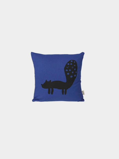 Cushion - Fox - Blue