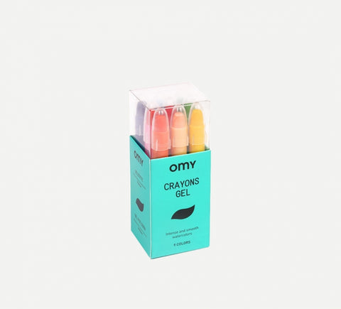 Gel Crayons - 9 Colours