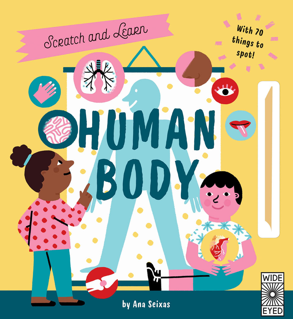 Book - Human Body (Scratch & Learn)