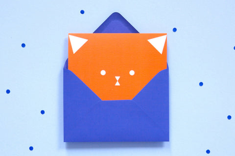 Greeting Card - Cat