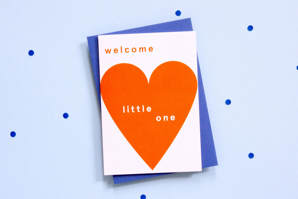 Greeting Card - Welcome To The World Little One