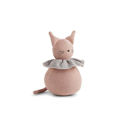 Knit Doll - Cat - Rose