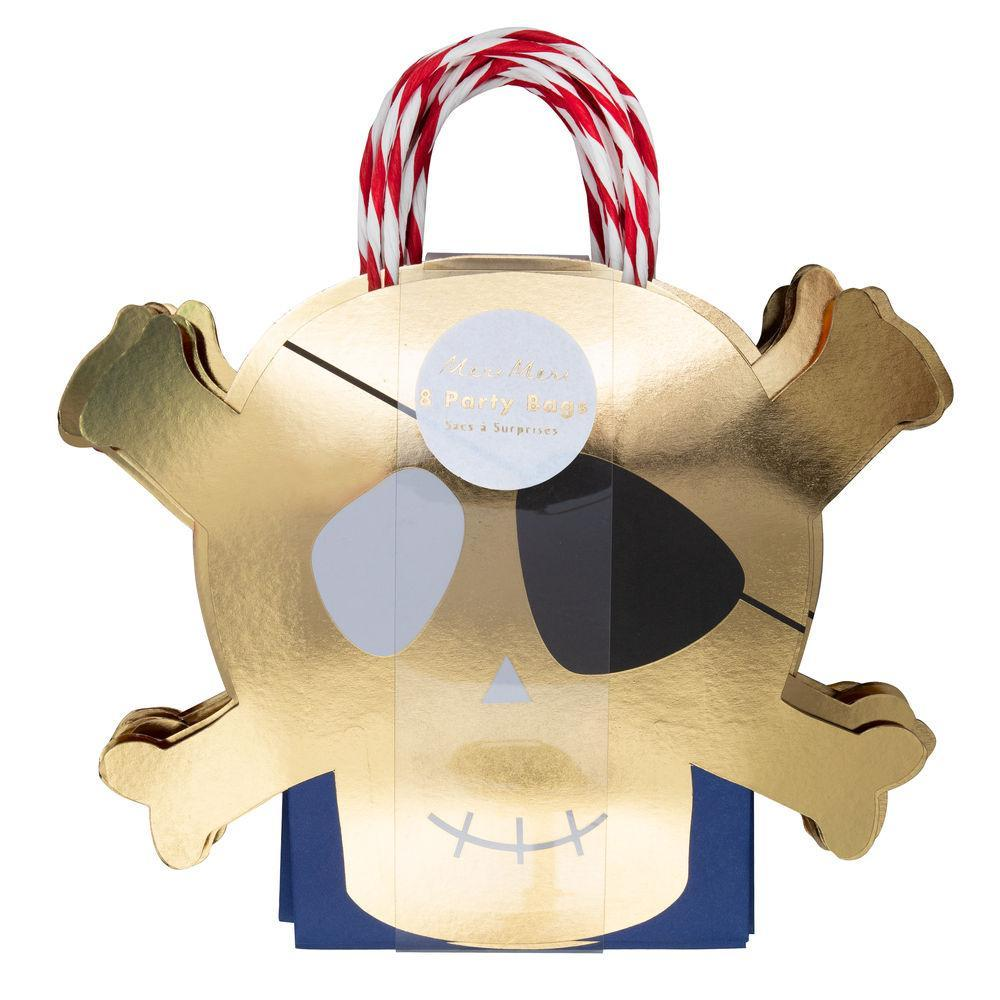Party Bags - Pirate - Gold Skull