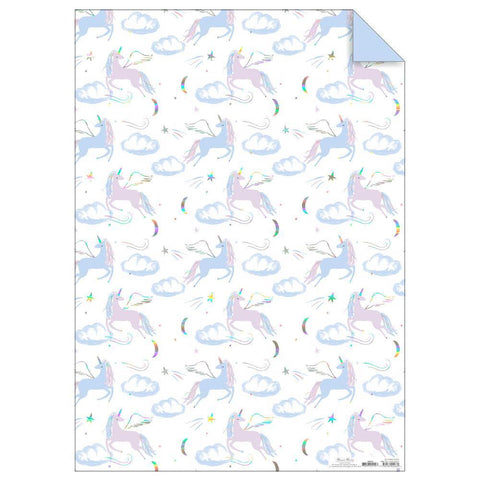 Wrapping Paper Sheets - Pegasus