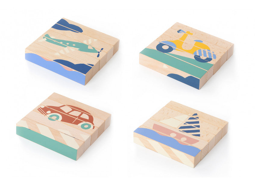 Wooden Blocks - Transport