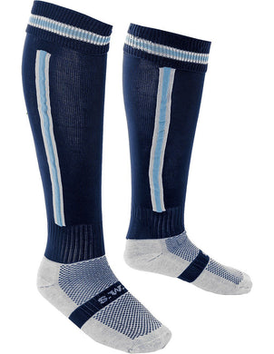 Chase High School - Navy/Sky Sports Socks - Schoolwear Centres | School Uniform Centres