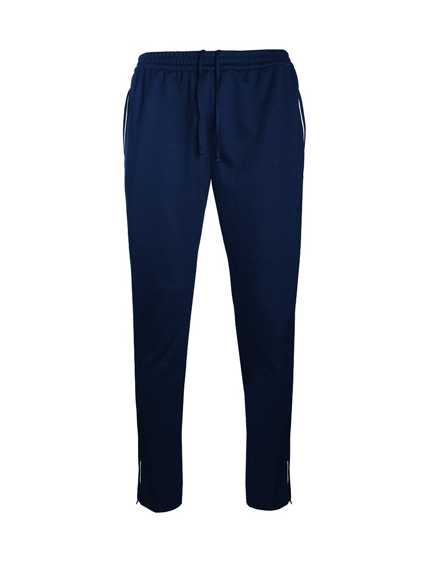 "Hassenbrook Academy P.E Tracksuit Bottom with School Logo Navy/Silver / Waist"" 42-44 Schoolwear Centres Tracksuit school-uniform-centres.myshopify.com Schoolwear Centres"