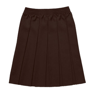 Girls Box Pleated Skirts BROWN / 19-20 School Uniform Centres Skirts school-uniform-centres.myshopify.com Schoolwear Centres