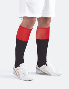 The Eastwood Academy | Contrast Sports Socks | Official School Socks BLACK/RED / LARGE School Uniform Centres FOOTBALL SOCKS school-uniform-centres.myshopify.com Schoolwear Centres
