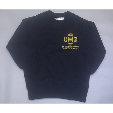 "St Helen's Catholic Primary School -  Nursery Sweatshirt with School Logo NAVY / 32"" School Uniform Centres Sweatshirts school-uniform-centres.myshopify.com Schoolwear Centres"