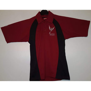Belfairs Academy - Maroon/Black Sports Polo Shirt with School Logo MAROON / 3XL School Uniform Centres Polo Shirts school-uniform-centres.myshopify.com Schoolwear Centres