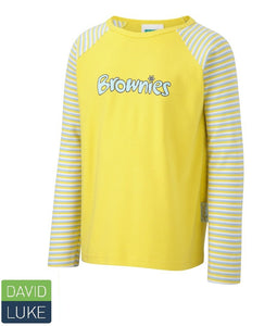 Brownie Long Sleeved T-Shirt YELLOW / 36 School Uniform Centres Brownie T-shirts school-uniform-centres.myshopify.com Schoolwear Centres
