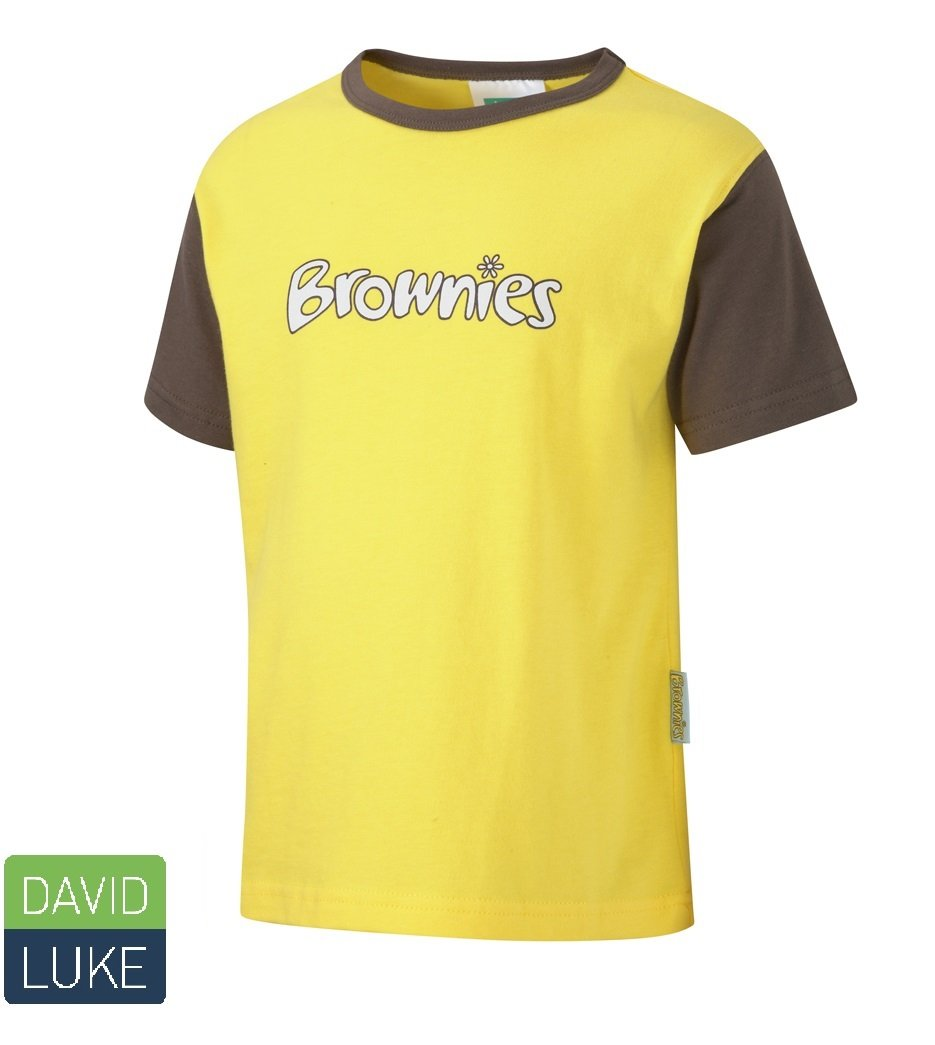Brownie Short Sleeved T-Shirt - Schoolwear Centres | School Uniform Centres