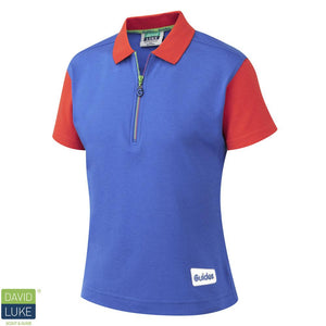 New Guide Polo Shirt ROYAL/RED / 46 School Uniform Centres Polo Shirts school-uniform-centres.myshopify.com Schoolwear Centres