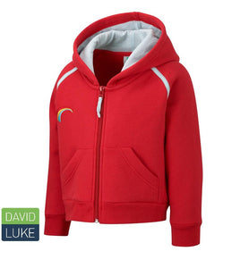 Rainbow Hooded Top RED / XL School Uniform Centres Hoody school-uniform-centres.myshopify.com Schoolwear Centres