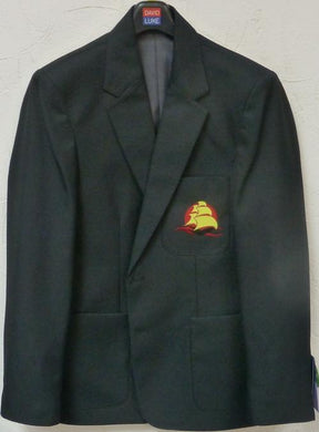 Mayflower High School - Boys Black Blazer with School Logo BLACK / 50 School Uniform Centres Blazer school-uniform-centres.myshopify.com Schoolwear Centres