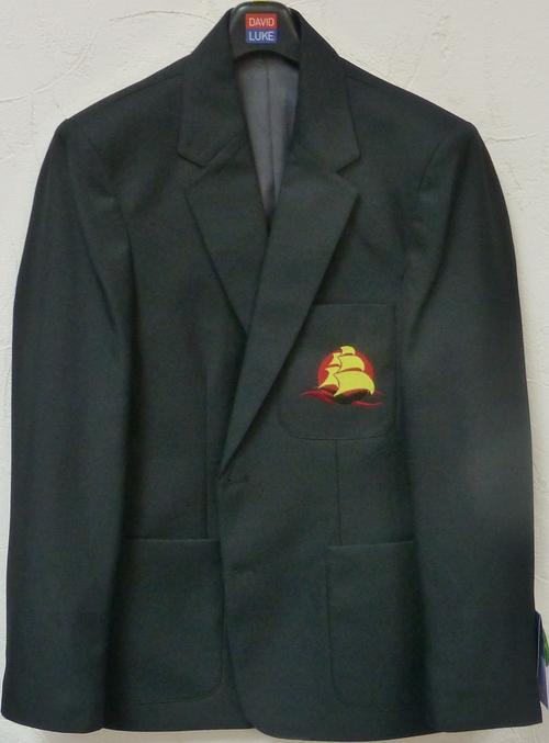 Mayflower High School - Boys Black Blazer with School Logo - Schoolwear Centres | School Uniform Centres