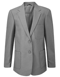 Saint Ursula's Catholic Infant School -  Grey Girls Blazer GREY / 34 School Uniform Centres Blazer school-uniform-centres.myshopify.com Schoolwear Centres