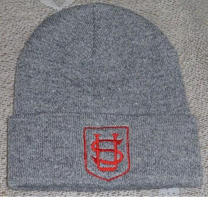 Saint Ursula's Catholic Infant School - Grey Beanie / Ski Hats with School Logo | School Uniform Centres