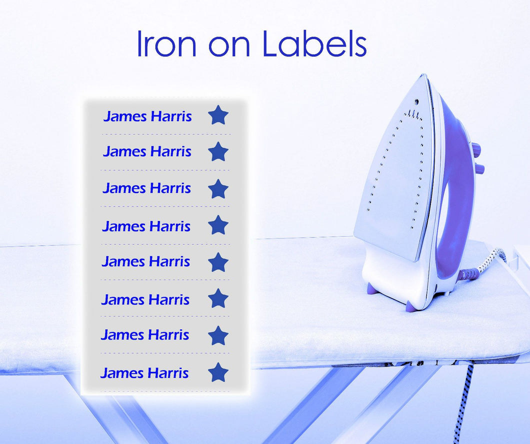 Instant Iron-on-Label | School Uniform Centres
