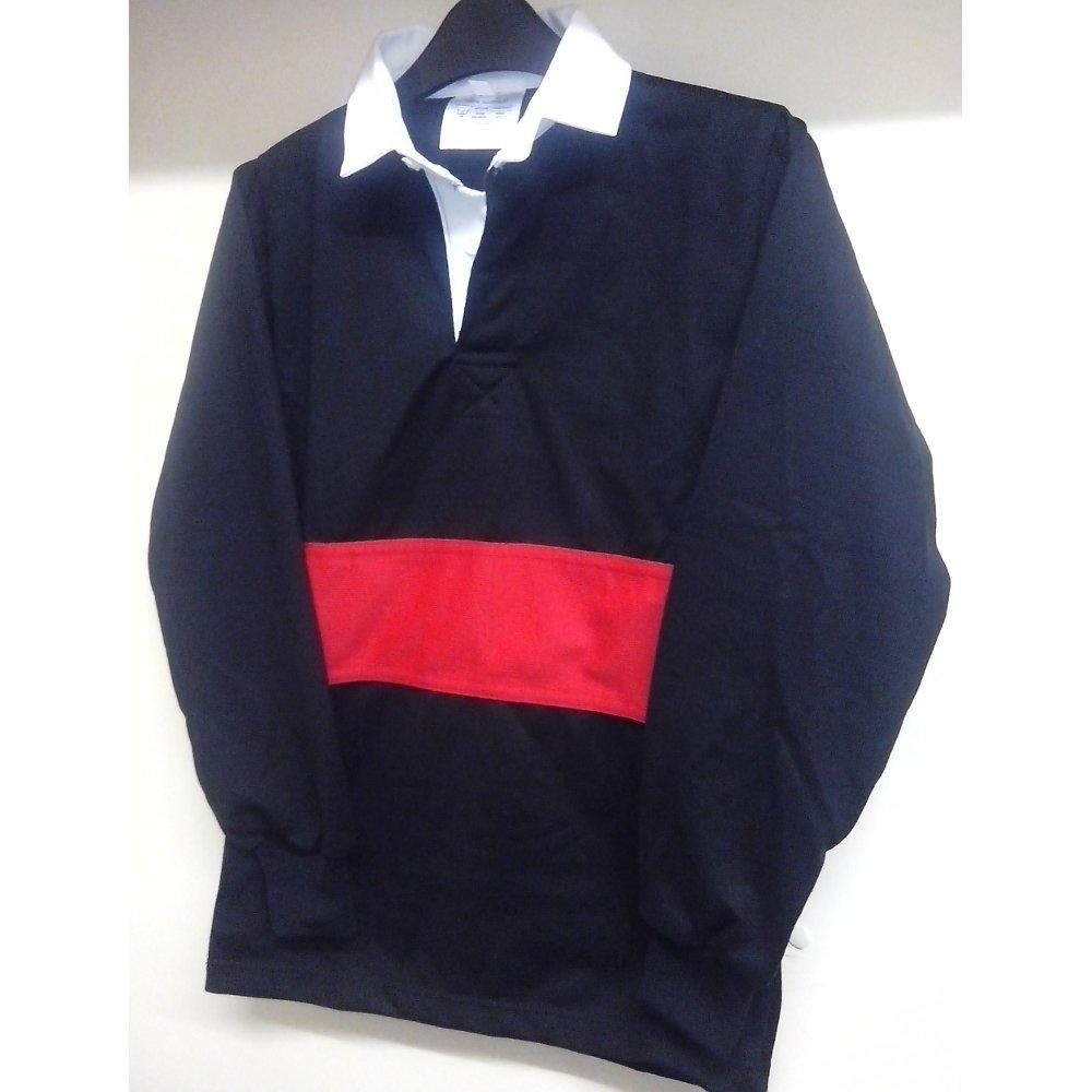"The Eastwood Academy - Rugby Top | Schoolwear Centres | Basildon School Uniform Shop BLACK/RED / 50"" School Uniform Centres RUGBY TOP school-uniform-centres.myshopify.com Schoolwear Centres"