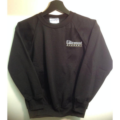 The Eastwood Academy - Black Sweatshirt with School Logo - Schoolwear Centres | School Uniform Centres