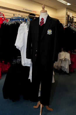 St Thomas More High School - Black Blazer  with School Logo - Schoolwear Centres | School Uniform Centres