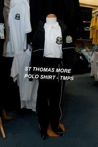 St Thomas More High School - White Polo Shirt with School Logo - Schoolwear Centres | School Uniform Centres