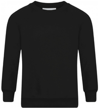 St Thomas More High School - Black Sweatshirt with School Logo - Schoolwear Centres | School Uniform Centres