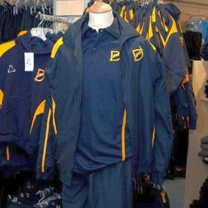 The Deanes School - Sport Tracksuit Top with School Logo | Schoolwear Centres