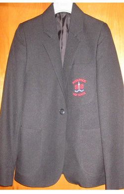 Shoeburyness High School - Boys Black Blazer with School Logo - Schoolwear Centres | School Uniform Centres