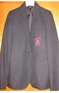 Shoeburyness High School - Girls Black Blazer with School Logo - Schoolwear Centres | School Uniform Centres