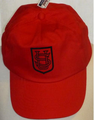 Saint Ursula's Catholic Infant School - Red Baseball Cap with School Logo | Schoolwear Centres