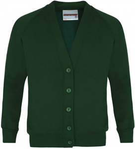 Eastwood Primary School - Sweat Cardigan with School Logo - Schoolwear Centres