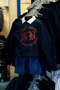 Great Berry - Sweatshirt Jumper with printed school logo - Schoolwear Centres | School Uniform Centres