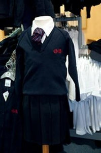 Great Berry Primary School - Navy Knitwear Cardigan 50% Cotton 50% Acrylic with School Logo | School Uniform Centres