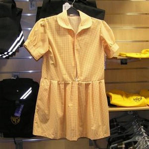 West Leigh Infant School -  Summer Dress GOLD / 40 School Uniform Centres Dress school-uniform-centres.myshopify.com Schoolwear Centres