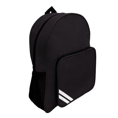 West Leigh School -  Black Infant Backpack with School Logo - Schoolwear Centres | School Uniform Centres