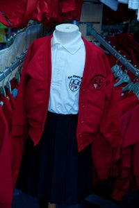 Lee Chapel Primary School - White Polo Shirt with School Logo - Schoolwear Centres
