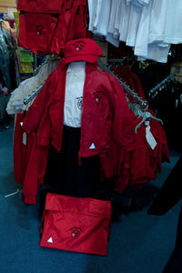 Lee Chapel Primary School - Red Bookbag with School Logo | School Uniform Centres
