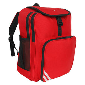 Lee Chapel Primary School - Red Junior Backpack with School Logo - Schoolwear Centres