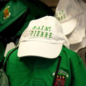 Saint Pierre School - Baseball Cap with School Logo | Schoolwear Centres