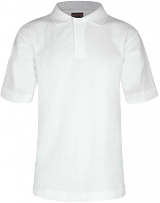 Millhouse Primary School and Nursery - White Polo Shirt with School Logo - Schoolwear Centres