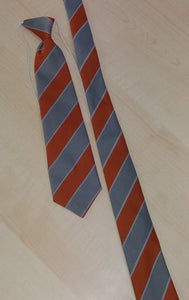 "Millhouse Primary School and Nursery - School Ties GOLD/GREY/WH / 39"" TIES School Uniform Centres Tie school-uniform-centres.myshopify.com Schoolwear Centres"