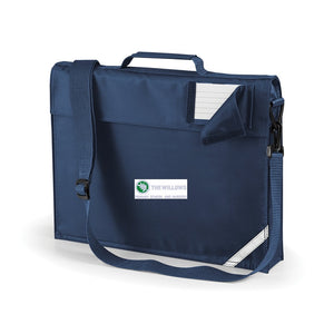 The Willows Primary School - Navy Bookbag with School Logo | School Uniform Centres