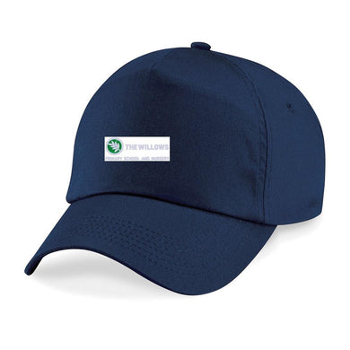 The Willows Primary School - Navy Baseball Cap with School Logo | Schoolwear Centres
