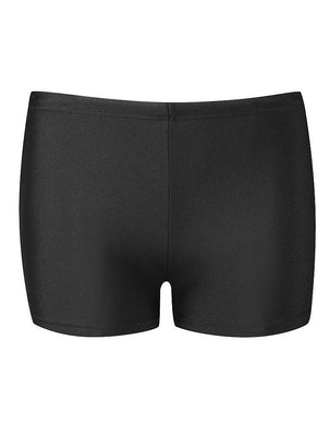 BOYS SWIM TRUNKS IN BLACK