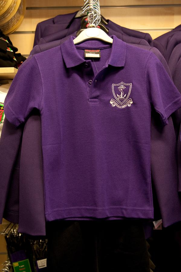 THORPE HALL - POLO SHIRT WITH SCHOOL LOGO | Schoolwear Centres