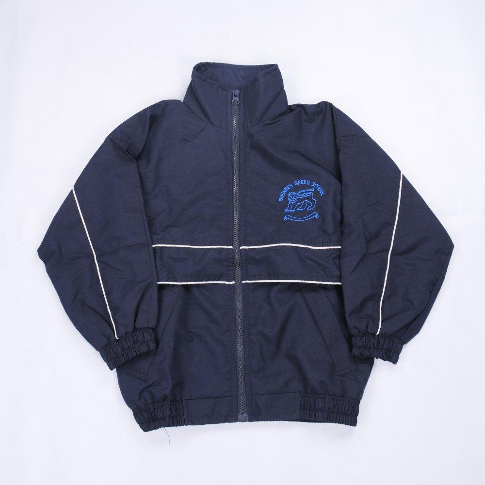 Bournes Green School - Navy Tracksuit Top with School Logo - Schoolwear Centres